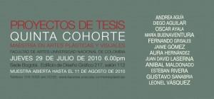 Muestra de Proyectos de Tesis - Maestría en Artes Plásticas y Visuales