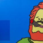 Jaime Vs. Jaime. (2011). Vinilo y Acrílico sobre MDF. 76 cm. 122 cm.