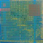 Sin Título (Collage). (2003). Vinilo sobre MDF. 60 cm 60 cm.