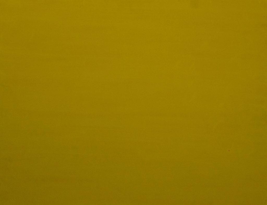 Dejar Pintura Amarillo (2018). Vinilo y acrílico sobre MDF. 90 cm 70 cm