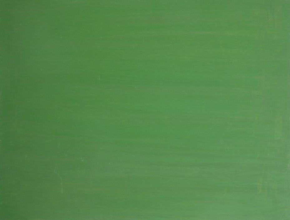 Dejar Pintura: Verde Opaco (2018). Vinilo y acrílico sobre MDF. 70 cm 90 cm